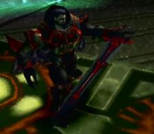 Doel with sword