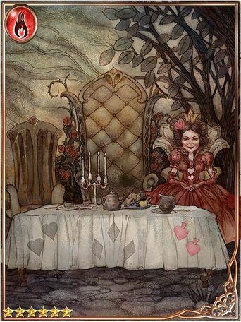 (Tea) The Queen in Elegant Repose