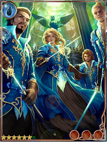 (Unit) Altruistic Azure Musketeers