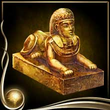 Yellow Sphinx Figure