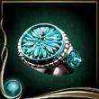 Turquoise Solar Ring EX