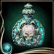 Turquoise Perfume Bottle EX