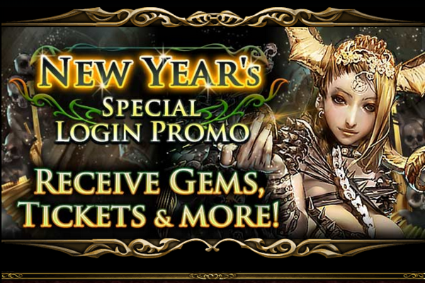 New Year's Special Login Promo
