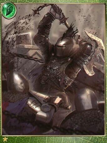 Praying Black Knight