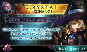 Crystal Exchange