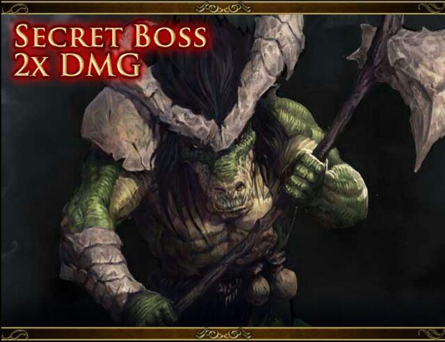 Secret Boss Reptillian Juggernaut Udo