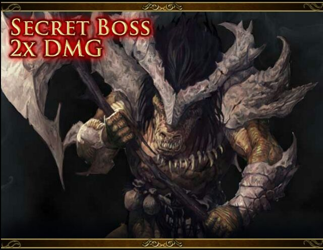 Secret Boss (Tireless) Reptillian Juggernaut Udo