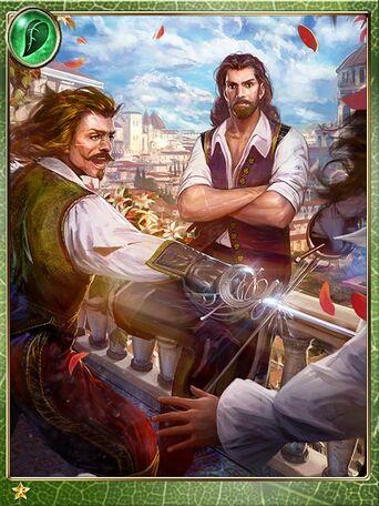 Rebellious Musketeers