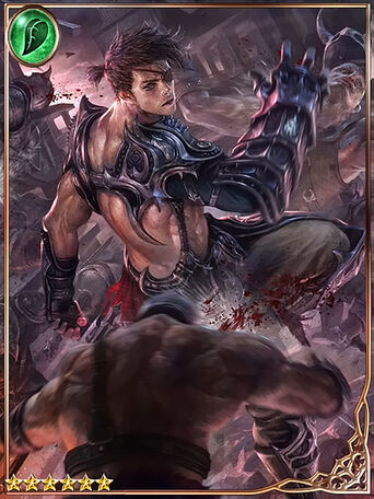 (Defying Death) Ironfist Warrior Scar