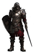 Shadowhand Soldier Black Guard