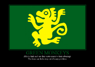 Green monkeys by winter phantom-d4cmqpu