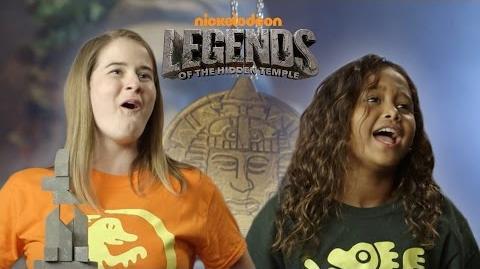 '90's Kids vs. Today's Kids Hidden Temple Challenge Presented By BuzzFeed & Nickelodeon