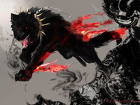 Demon wolf request by therockycrowe-d51ceaa