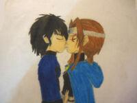Shadow & FrostAngel in love