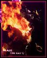 Blaze fire blast
