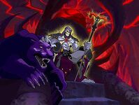 Skeletor and panthor