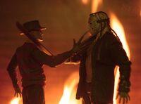 Freddy and jason at war