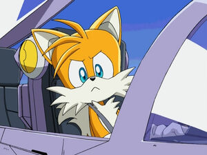 Tails in plane