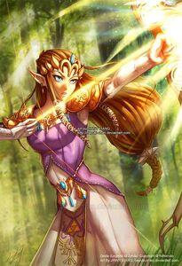 Zelda attack