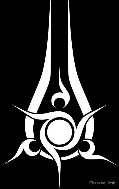 Swords of Sanghelios emblem white
