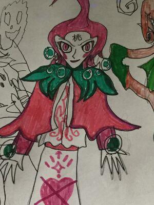 Lady Peach concept art