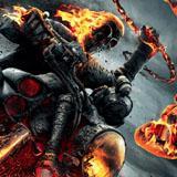 Ghost rider blazing chain