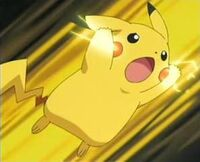 Pikachu ready attack