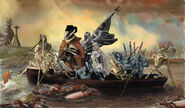 Greivous crosses the delaware by lk666