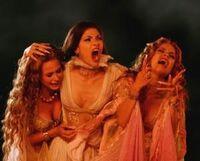 Aleera, verona, and marishka in despair