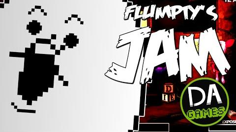 ONE NIGHT AT FLUMPTY'S SONG (Flumpty's Jam) LYRIC VIDEO - DAGames