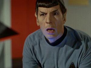 Spock shocked