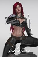 Katarina crouch by notagingermaan-d8fy46m