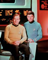 Captain kirk and dr mccoy