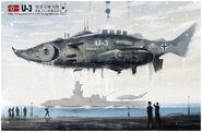 Nazi submarine u3 by huihui1979
