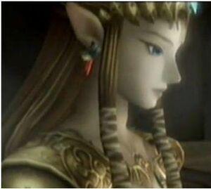 Zelda pensive
