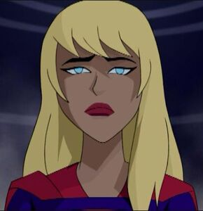 Supergirl frown