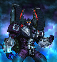 Megatron colored