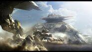 Light clouds aircrafts futuristic tanks digital art artwork 1600x900 wallpaper www.wallpaperfo.com 19