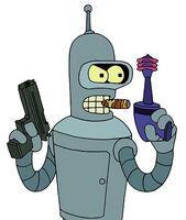 Bender evil 2 guns