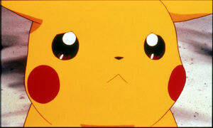 Pikachu sad frown