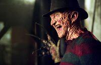 Freddy laughing