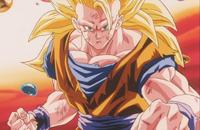 Goku ss3 happy
