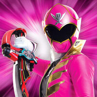 Pink-ranger-about-web