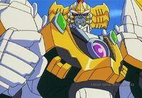 Galvatron looking tough