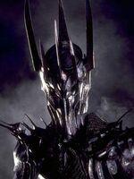 Sauron head bowed
