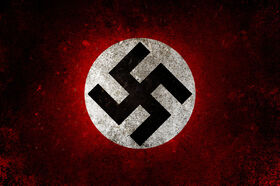 Logonazi party flag by elhadibrahimi-d4qkyxs