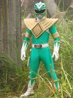 Green ranger full view