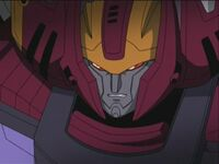 Galvatron doesn't look happy