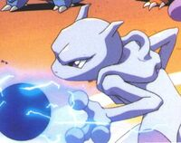 Mewtwo with orb