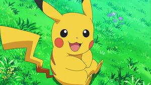 Pikachu big smile